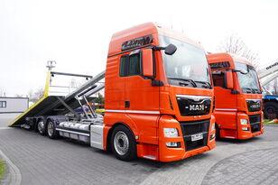 سحب شاحنة MAN TGX 26.440 XXL , E6 , 6X2 , NEW BODY 7,5m , hydraulic , 2x winch